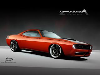обои 2010 Racer X Design Cuda AAR-10 сбоку фото