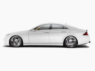 обои Wheelsandmore Mercedes-Benz CLS White Label белый фото