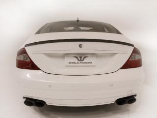 обои Wheelsandmore Mercedes-Benz CLS White Label зад фото