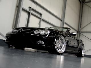 обои Wheelsandmore Mercedes-Benz SL-Maxx перед фото