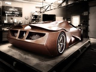 обои Splinter Wooden Supercar зад фото