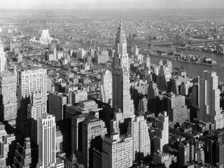 обои Здание Крайслера на Манхэтене фото
