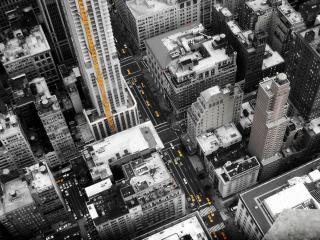 обои Улицы Нью-Йорка свысока фото