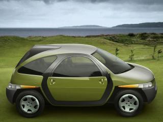 обои 2009 Fioravanti Tris Concept сбоку фото