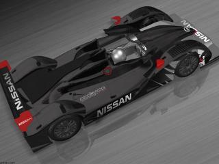 обои 2011 Oreca LMP2 Signatech Nissan сверху фото
