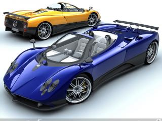обои Pagani Zonda Roadsters красавцы фото