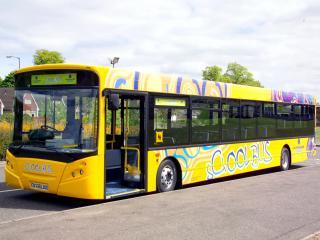 обои Alexander Dennis Enviro300 School Bus сбоку фото