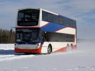обои Alexander Dennis Enviro500 US-spec снег фото