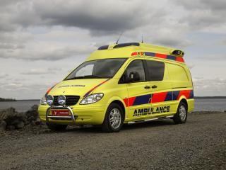 обои Tamlans Mercedes-Benz Vito Ambulance (W639) перед фото
