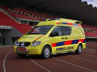 обои Tamlans Mercedes-Benz Vito Ambulance (W639) сбоку фото