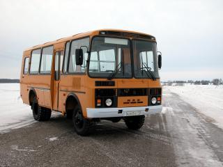 обои ПАЗ 3206-60 перед фото
