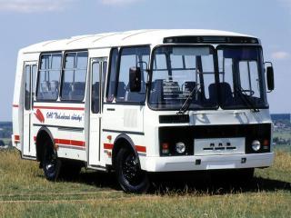 обои ПАЗ 32051 белый фото