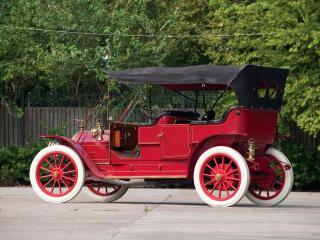 обои Thomas Flyer Touring (K 6-70) красный фото