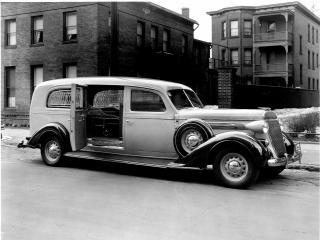 обои Buick Ambulance 1938 сбоку фото