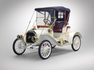 обои Buick Model 10 Touring Runabout 1908 перед фото