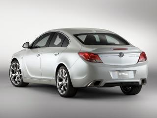 обои Buick Regal GS Concept 2010 задок фото