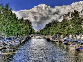обои Мостик через реку фото