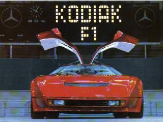 обои Kodiak F1 1983 спереди фото