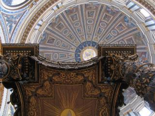 обои Красивый потолок фото