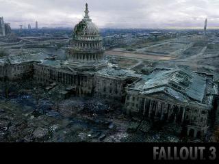обои Разрушеный капитолий фото