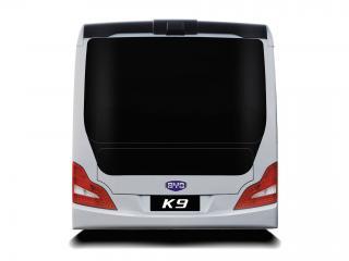 обои BYD K9 e-Bus 2011 зад фото
