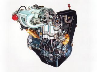 обои Двигатель Lancia 831AB.016  фото