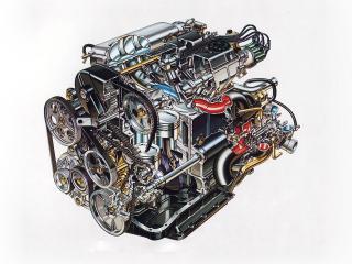 обои Двигатель Lancia 831AB.024  фото
