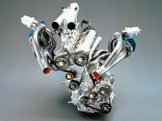обои Двигатель Lancia ECV Prototipo  фото