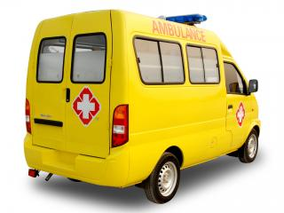 обои DongFeng Mini MPV Ambulance (EQ6410LF) 2008 бок фото