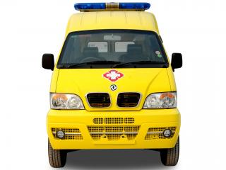 обои DongFeng Mini MPV Ambulance (EQ6410LF) 2008 спереди фото