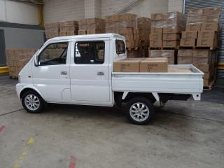 обои DongFeng Mini MPV Double Cab Pickup UK-spec (EQ1021TF) 2011 бок фото