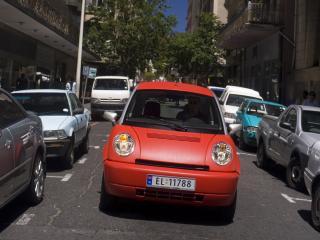 обои Think City 2008 спереди фото
