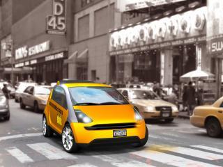 обои Think Ox Concept 2008 такси фото