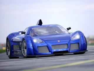 обои Gumpert Apollo 2006 фары фото