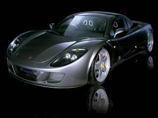 обои Farboud GTS 2003 боком фото