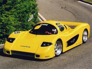 обои LeBlanc Caroline GTR 1999 перед фото