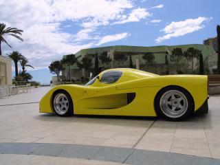 обои LeBlanc Caroline GTR 1999 сбоку фото