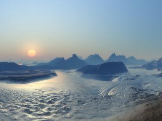 обои Где то в Антарктике фото