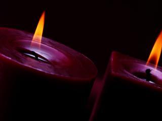 обои Зажженные свечи фото