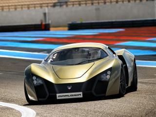 обои Marussia B2 2009 супер фото