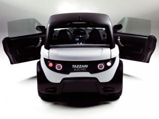 обои Tazzari Zero 2010 двери фото