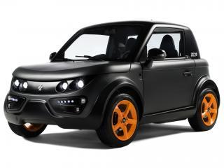 обои Tazzari Zero Special Edition 2011 черная фото