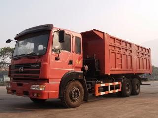 обои Hongyan XinDaKang 6x4 Dumper (CQ3243T8F3) 2003 бок фото