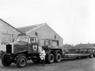 обои Scammell Junior Сonstructor 1952 сбоку фото