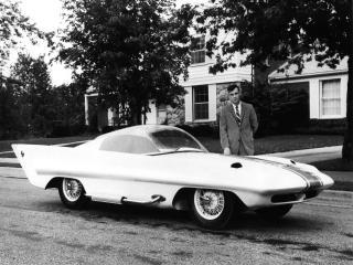 обои Simca Special Concept 1958 сбоку фото