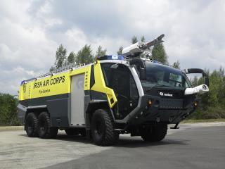обои Rosenbauer Panther 6x6 желтая фото