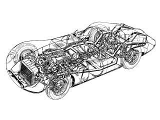 обои Osca 1500 Sport 1958 схема фото