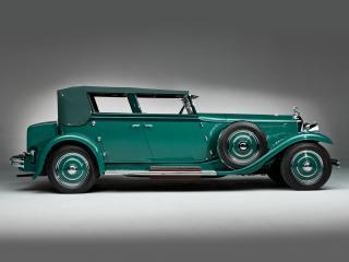 обои Minerva 8AL Rollston Convertible Sedan 1931 бок фото