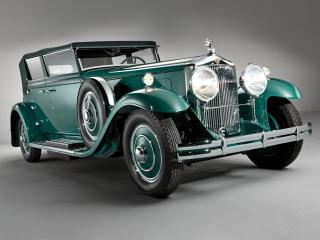 обои Minerva 8AL Rollston Convertible Sedan 1931 перед фото