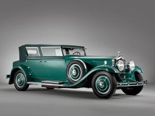 обои Minerva 8AL Rollston Convertible Sedan 1931 сбоку фото